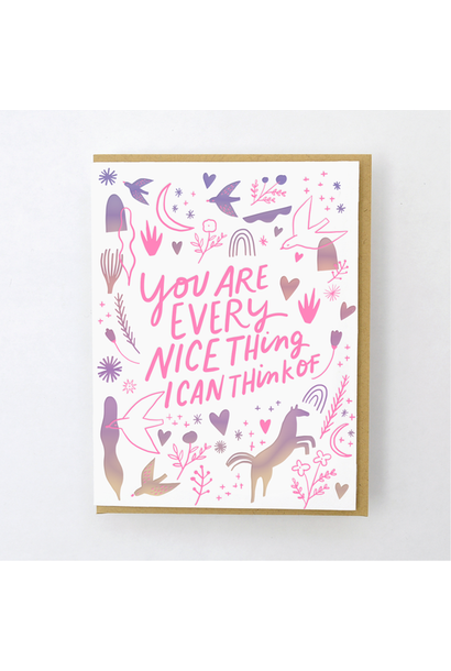 everything nice card