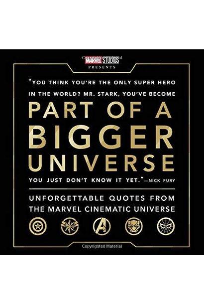part of a bigger universe book