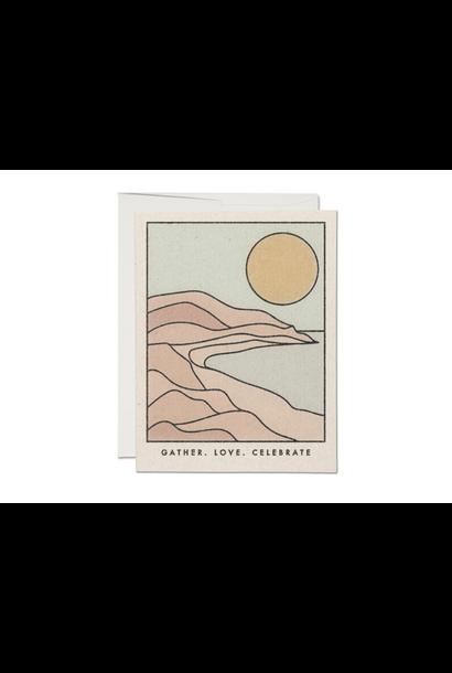 gather coastline friendship card