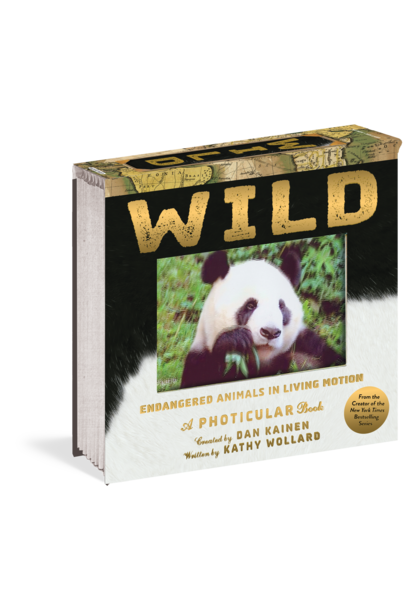Wild: Endangered Animals in Living Motion (Photicular) book