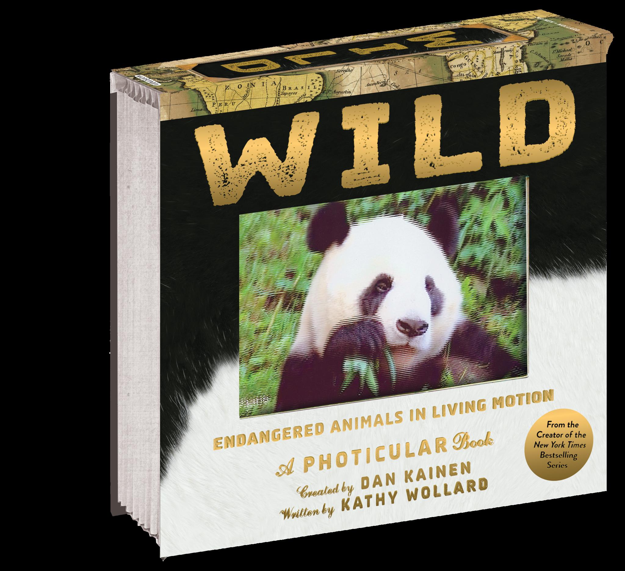 Wild: Endangered Animals in Living Motion (Photicular) book-1