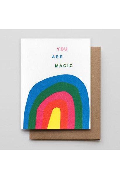 magic rainbow card