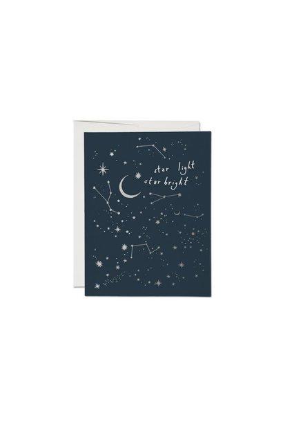 moon + stars card