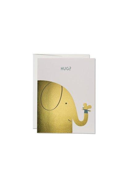 hug? card