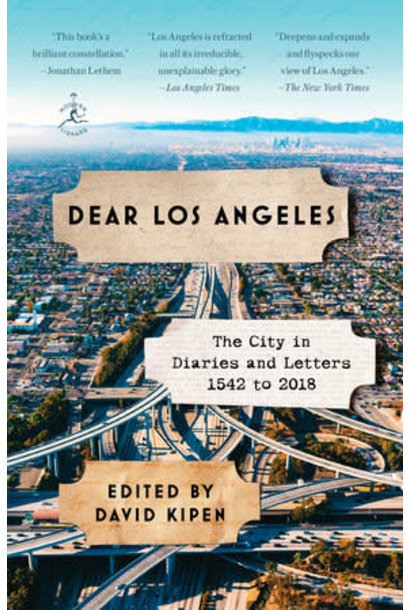 dear los angeles book