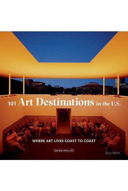 101 art destinations book
