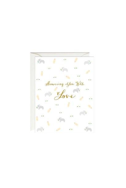 elephant shower card
