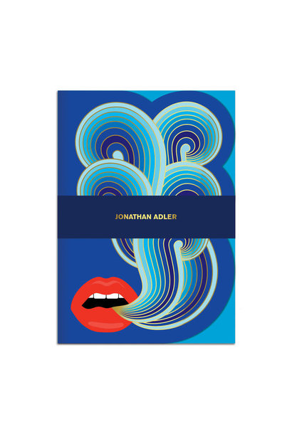 jonathan adler lips a5 journal
