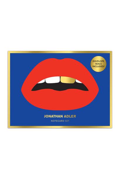 jonathan adler boxed diecut notecard set
