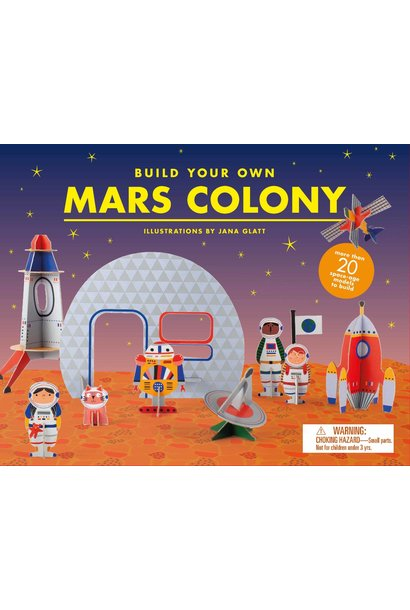 build your own mars colony game