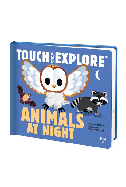 touch and explore animals at night book