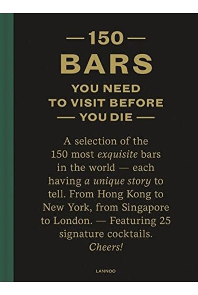 150 bars you need to visit before you die book