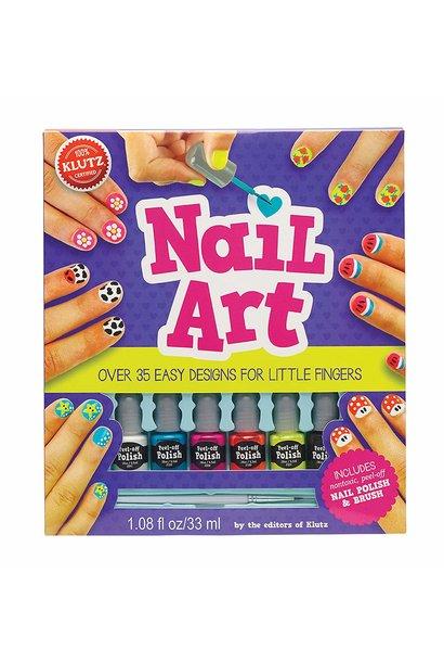 nail art design kit for little fingers