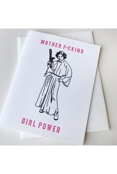 MF girl power card