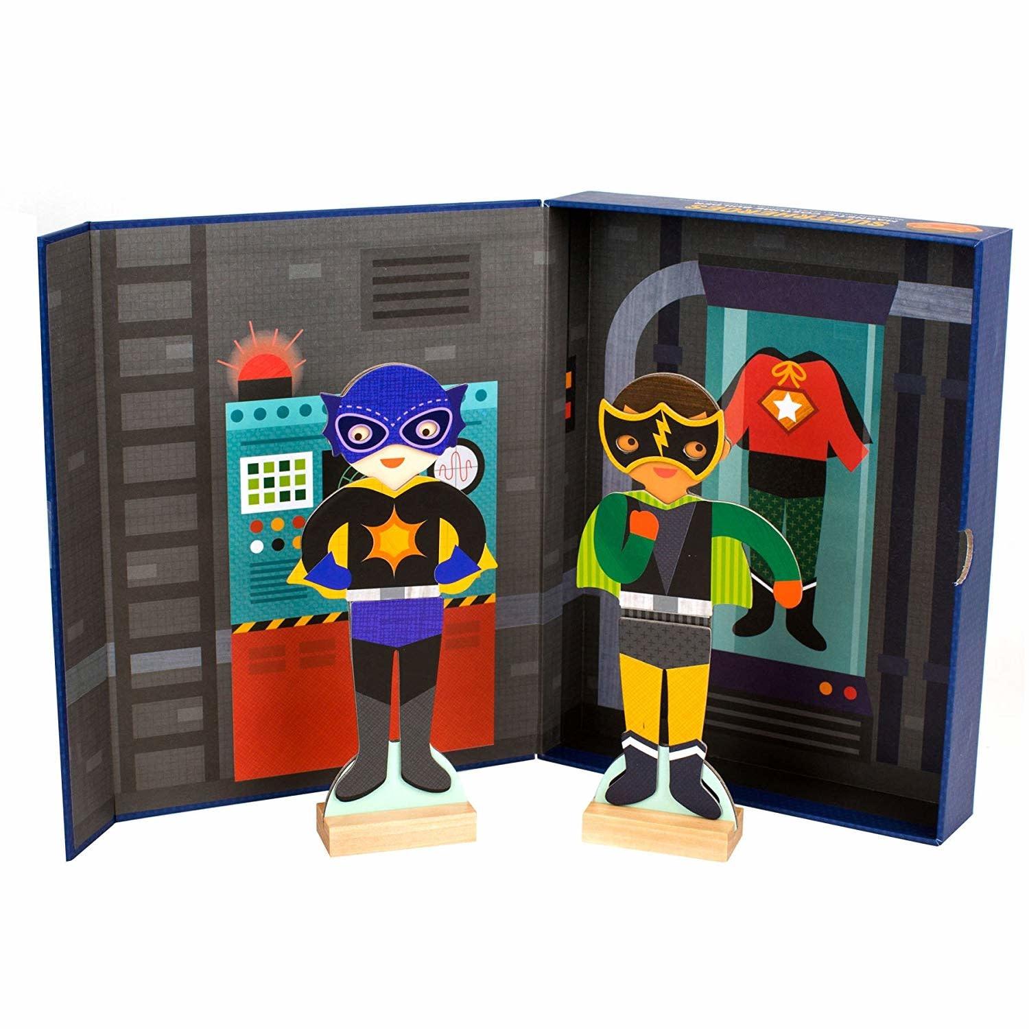 Superheroes magnetic dress up-1