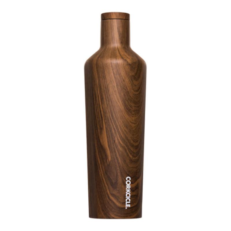 walnut wood canteen 25oz-1