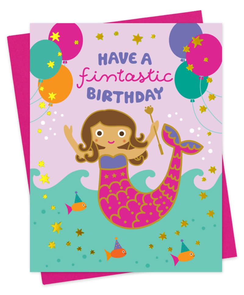 Mermaid Birthday card-1