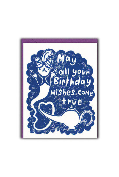 may all your birthday wishes come true card