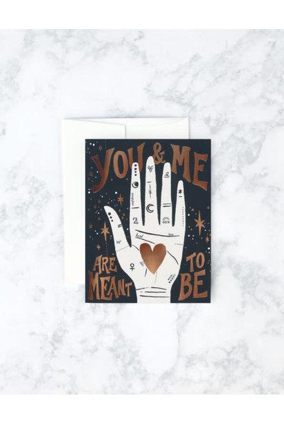 palmistry love card