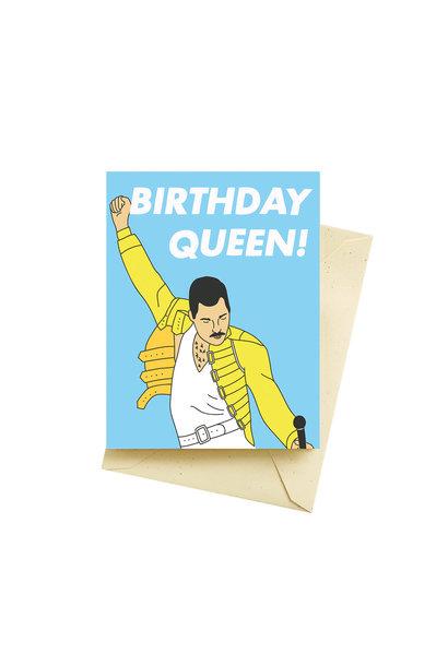 queen birthday card