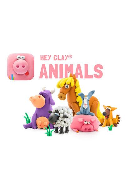 hey clay- animals