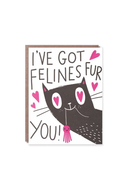 felines for you card