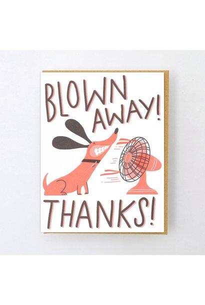 blown away card