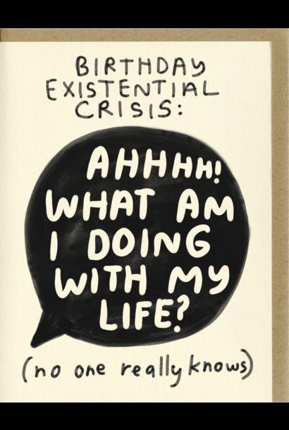 birthday crisis card