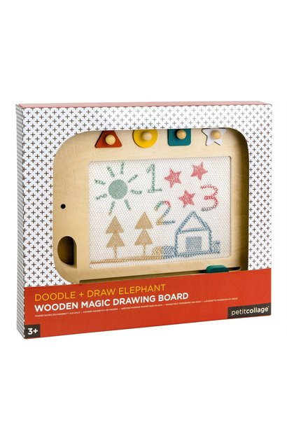 doodle and draw elephant magic drawing board