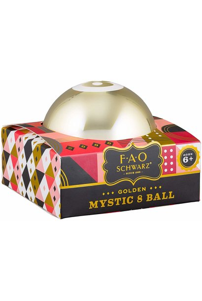 gold mystic 8 ball