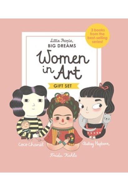 women in art boxed set