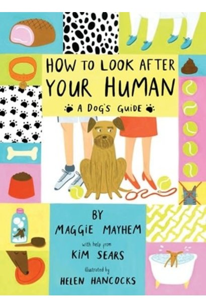 how to look after your human book