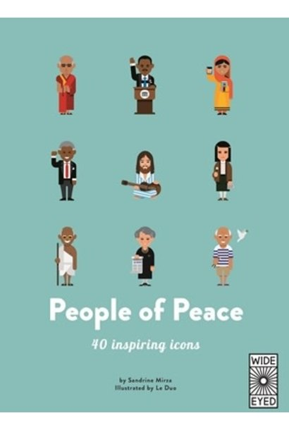 top 40: people of peace book
