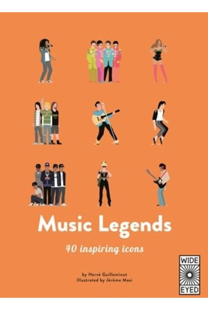 top 40: music legends book