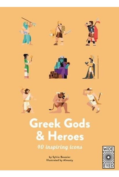 top 40: greek gods and heroes book