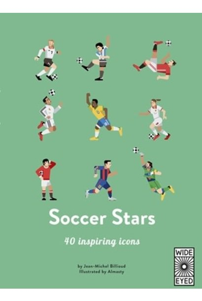 top 40: soccer stars book