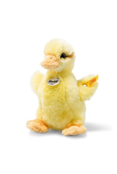 pilla yellow duckling steiff stuffed animal