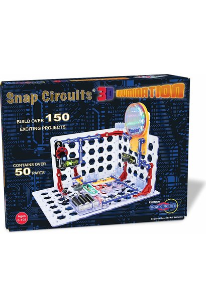 snap circuits 3D illumination kit