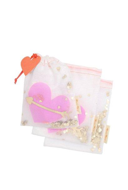 heart shaker medium bags