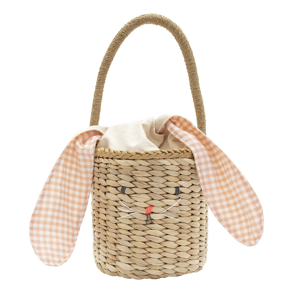 bunny woven straw bag-1