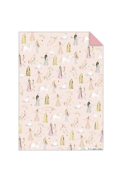 magical princess wrap sheet