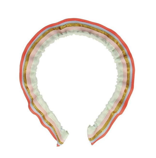 rainbow ruffle headbad-1