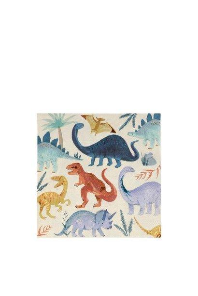 dinosaur kingdom large napkins