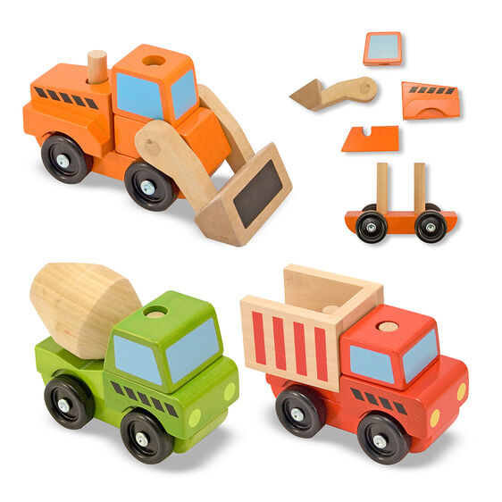 stacking construction vehicles toy-2