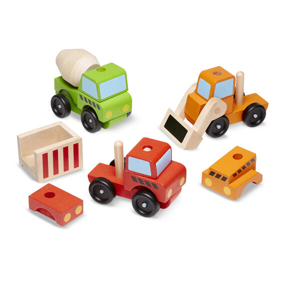 stacking construction vehicles toy-3