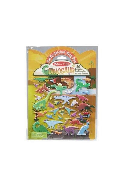 puffy sticker dinosaur