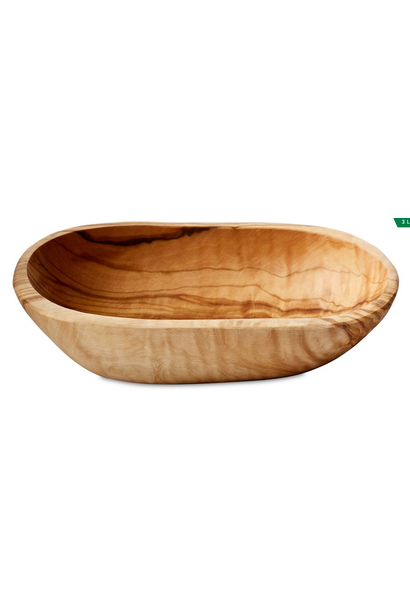 Olive Wood Oval Dish, Large