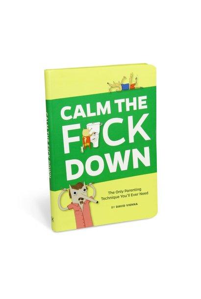 calm the f*ck down book