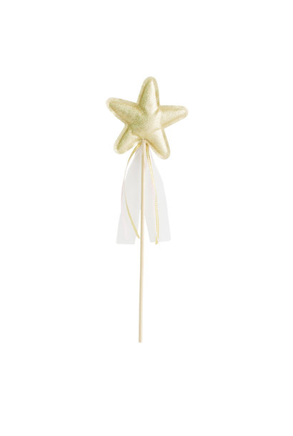 gold amelie star wand
