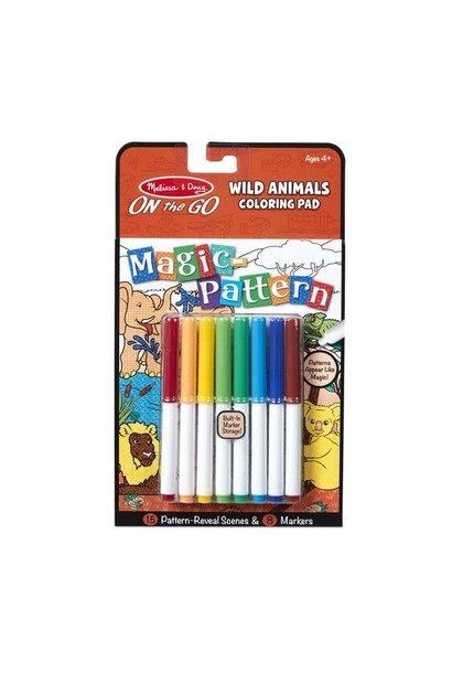 on the go magic pattern- wild animals